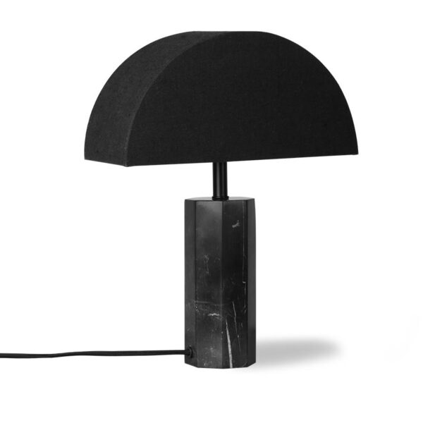 Hexagon Marble Table Lamp
