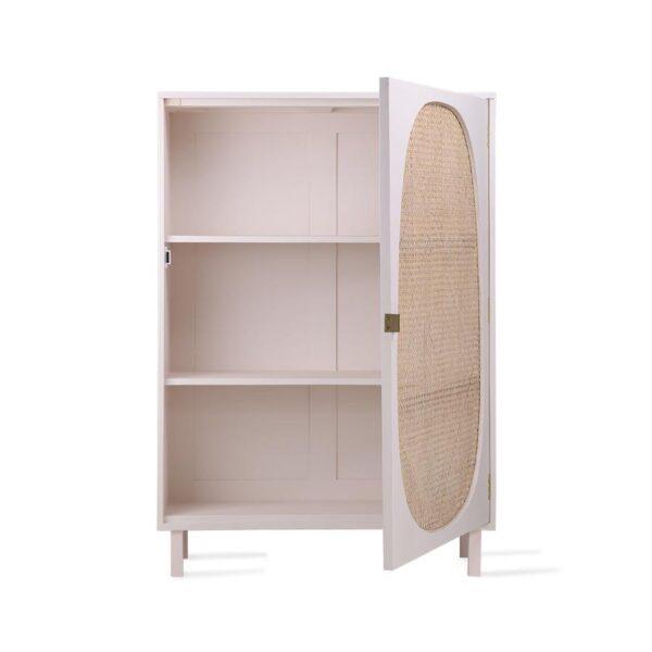 Webbing Single Door Cabinet