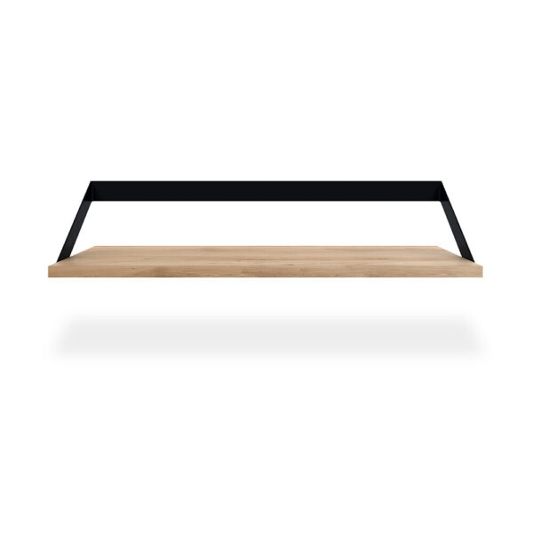 Oak Ribbon Shelf - Black