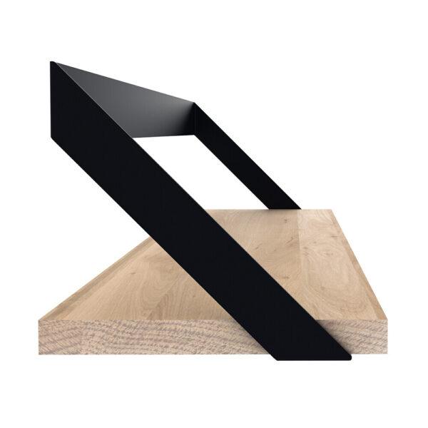 Oak Ribbon Shelf - Black