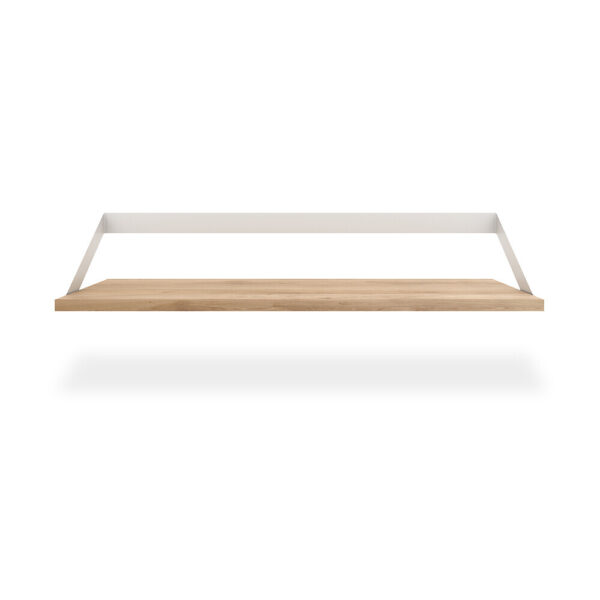 Oak Ribbon Shelf - White