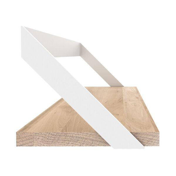 Oak Ribbon Shelf - White